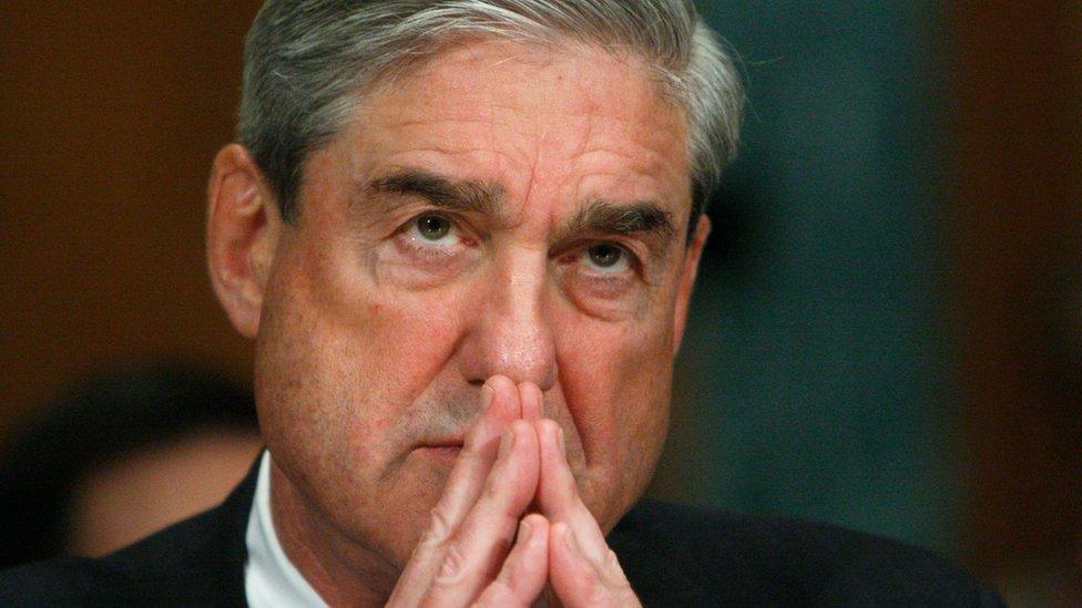 Fiscal especial Robert Mueller.