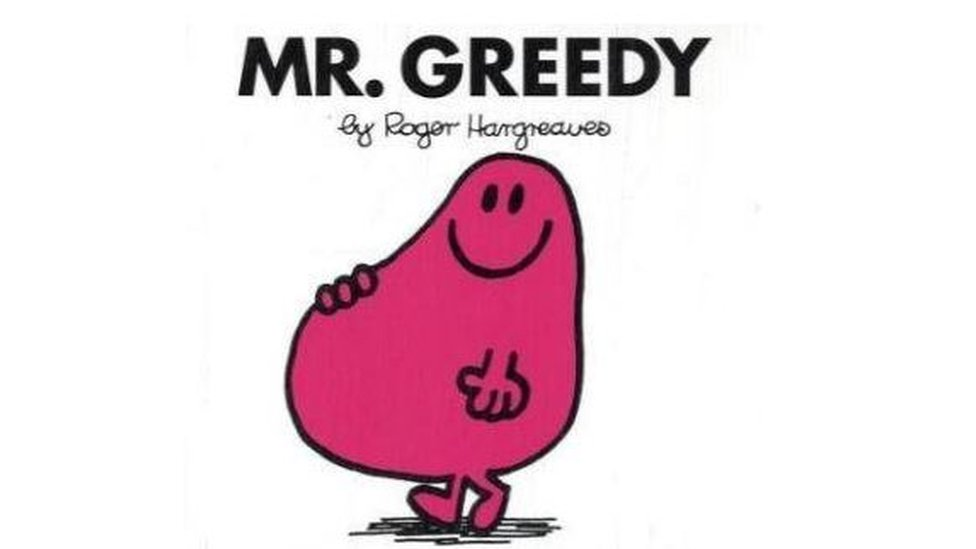 Mr Greedy book