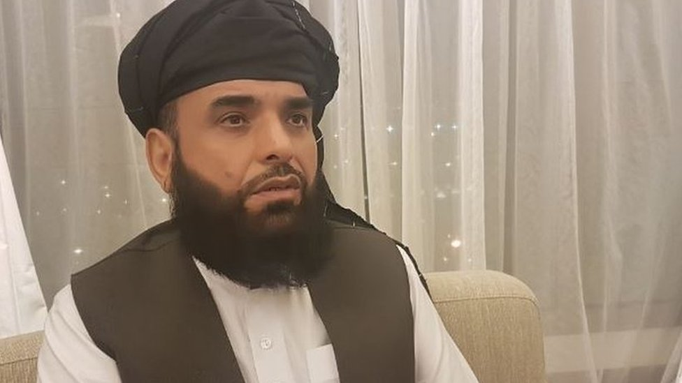 Suhail Shaheen, Spokesman of Taliban's Qatar political office
