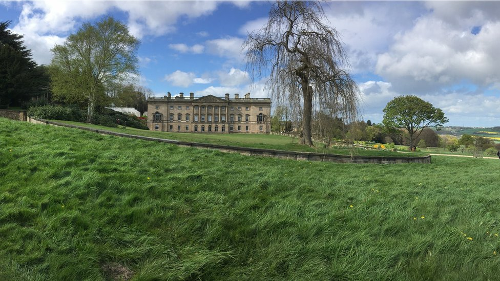 Wentworth Castle Gardens at Stainborough