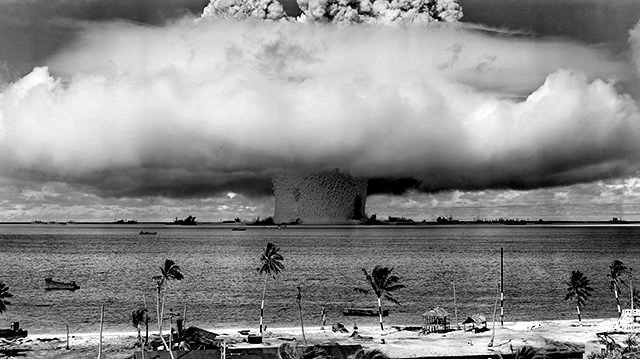 Ядерные взрывы у атолла Бикини: последствия сказываются 73 года спустя