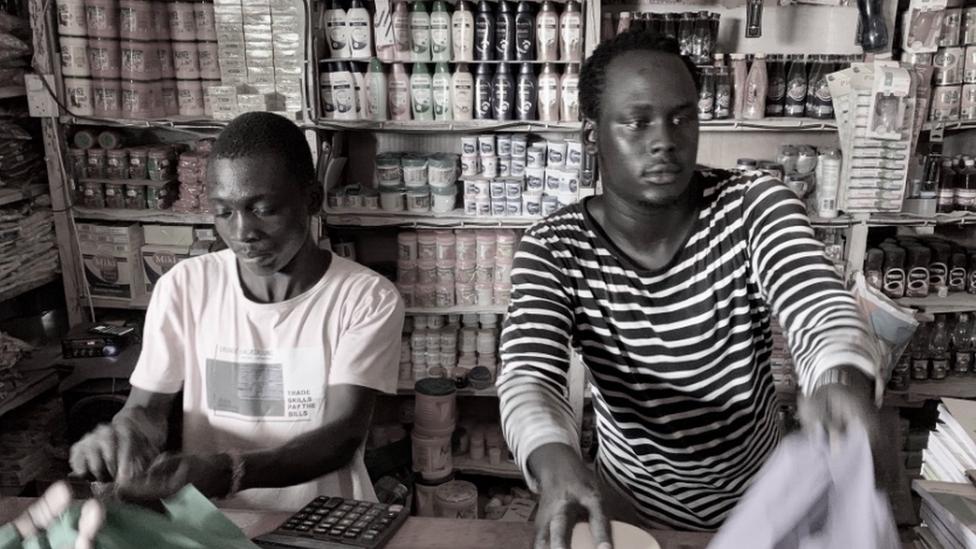 Tienda en Kakuma