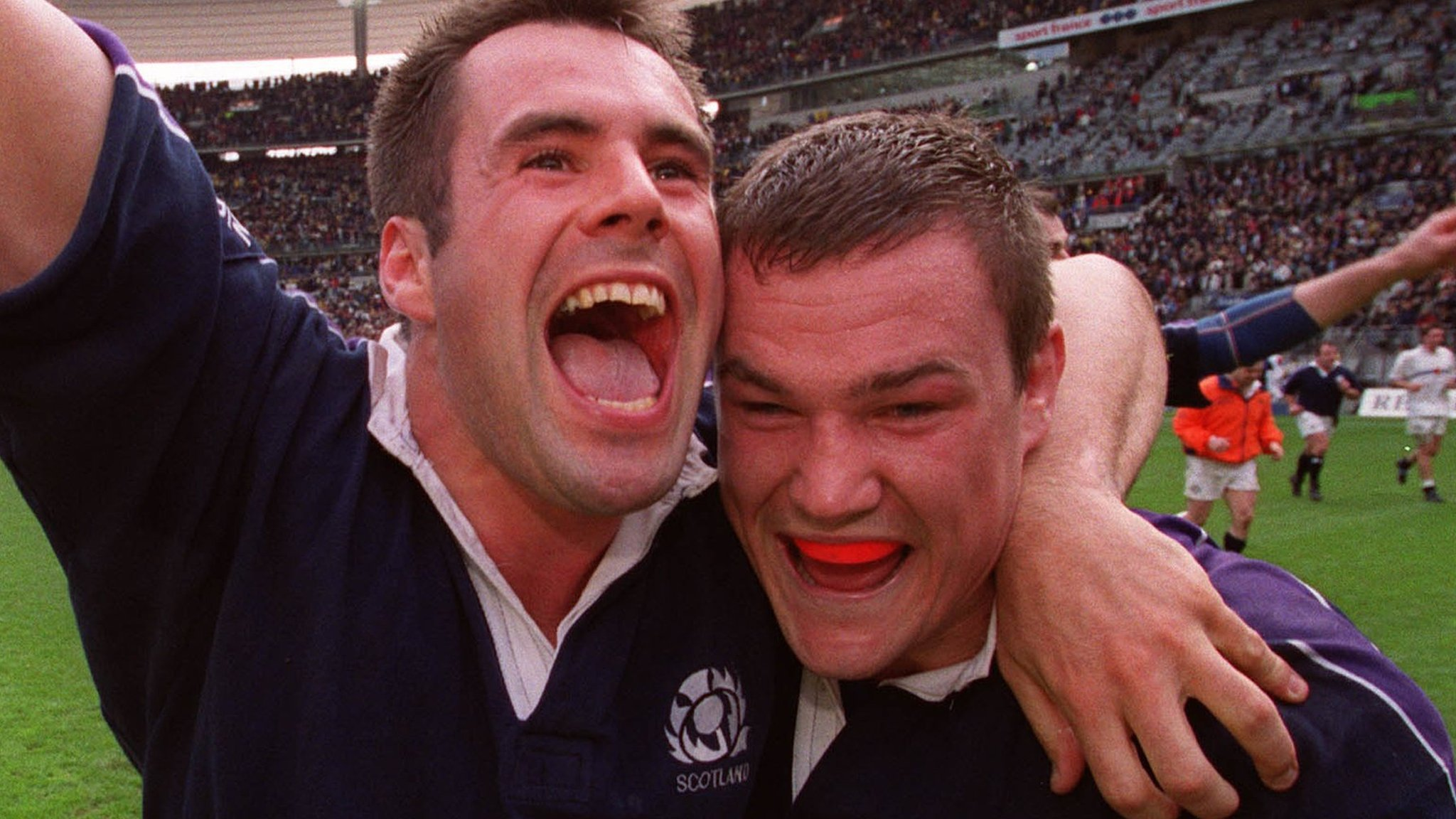 Prawn cocktail, 'space cadet' Townsend & champagne - Scotland's 1999 Paris glory relived