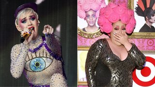 BBC - Newsbeat - Drag queen criticises Katy Perry's team 'for offering unpaid work in video'