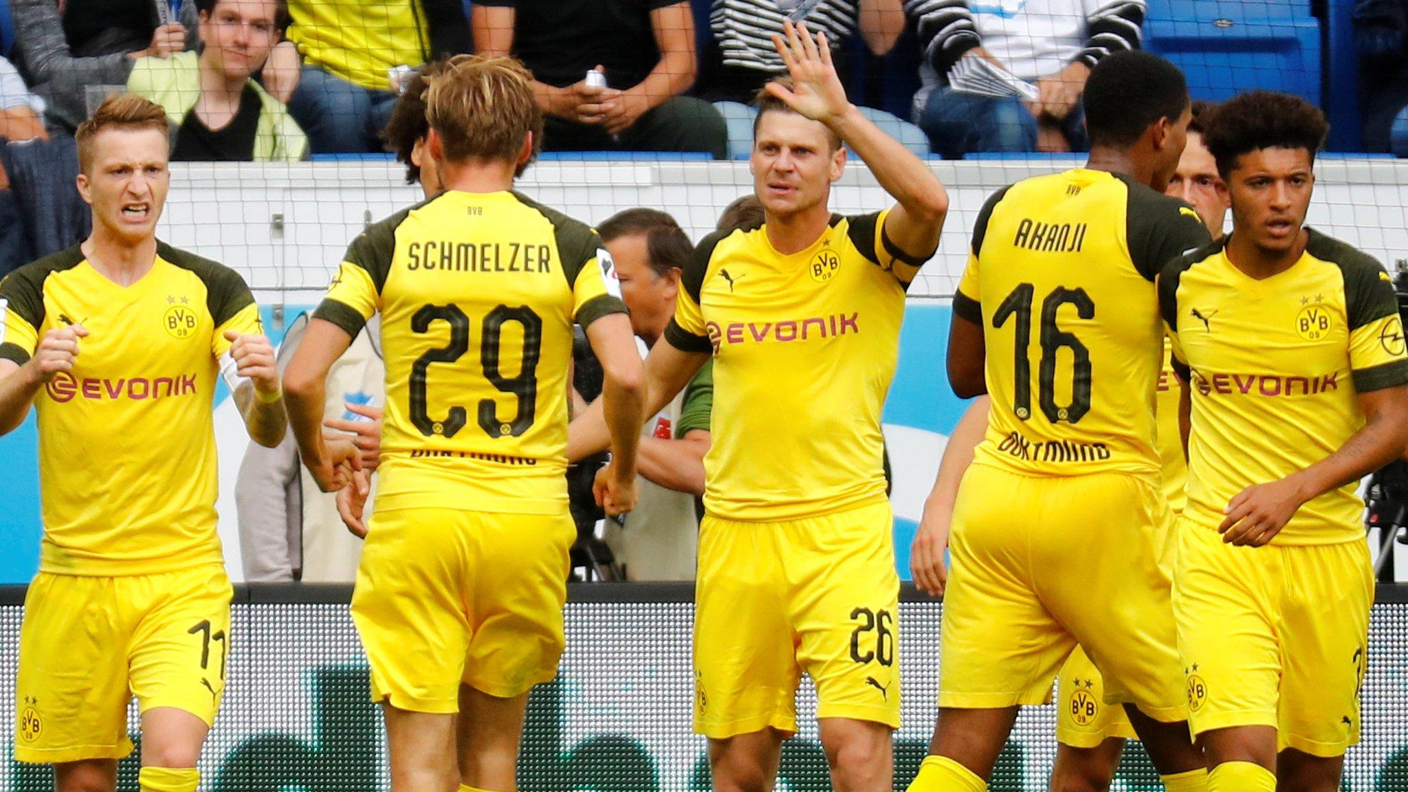 Hoffenheim 1-1 Borussia Dortmund