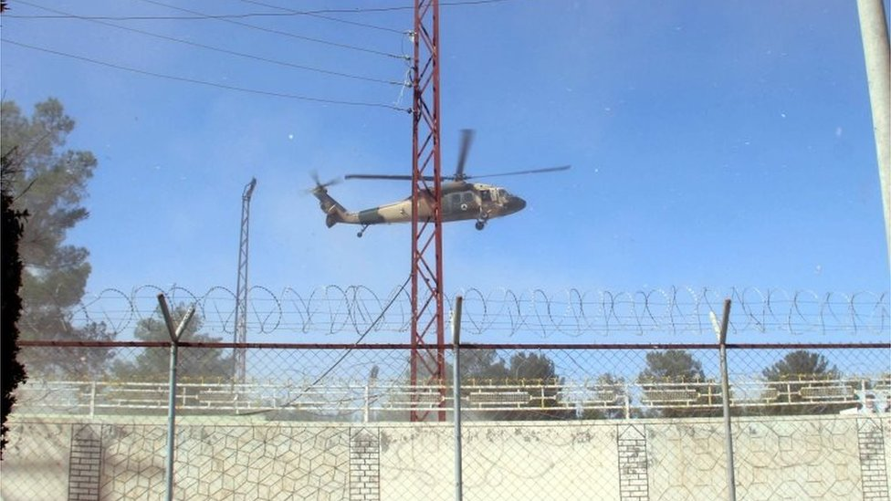 Afghan-Taliban conflict: Helicopters carrying wounded troops collide thumbnail