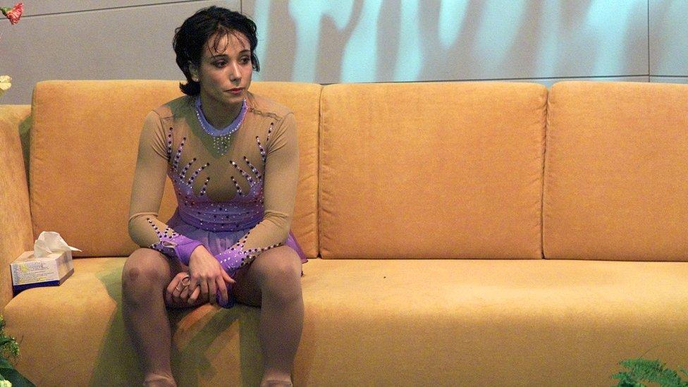 File photo of Sarah Abitbol
