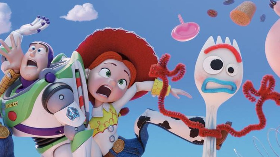 Toy Story 4 first trailer reveals new character - meet Forky