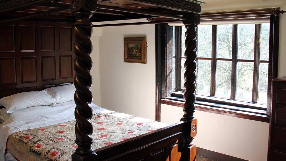 Uno de los cuartos de Shibden