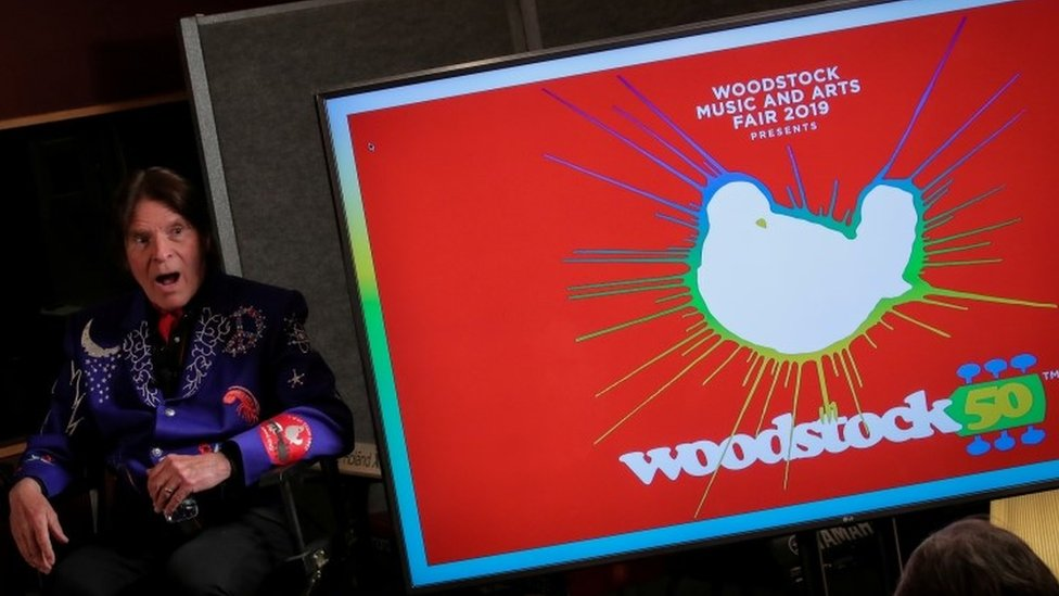BBC News - Woodstock 50 festival officially cancelled