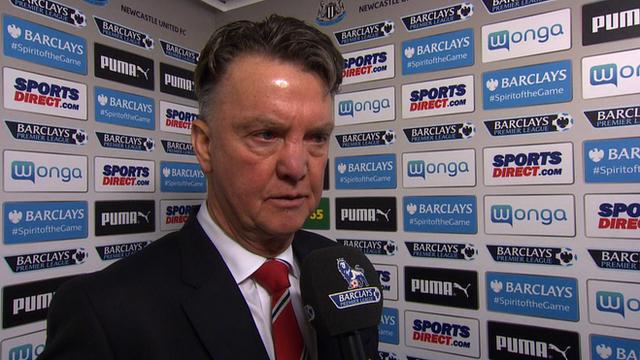 Newcastle 3-3 Man Utd: Van Gaal says side should have scored six