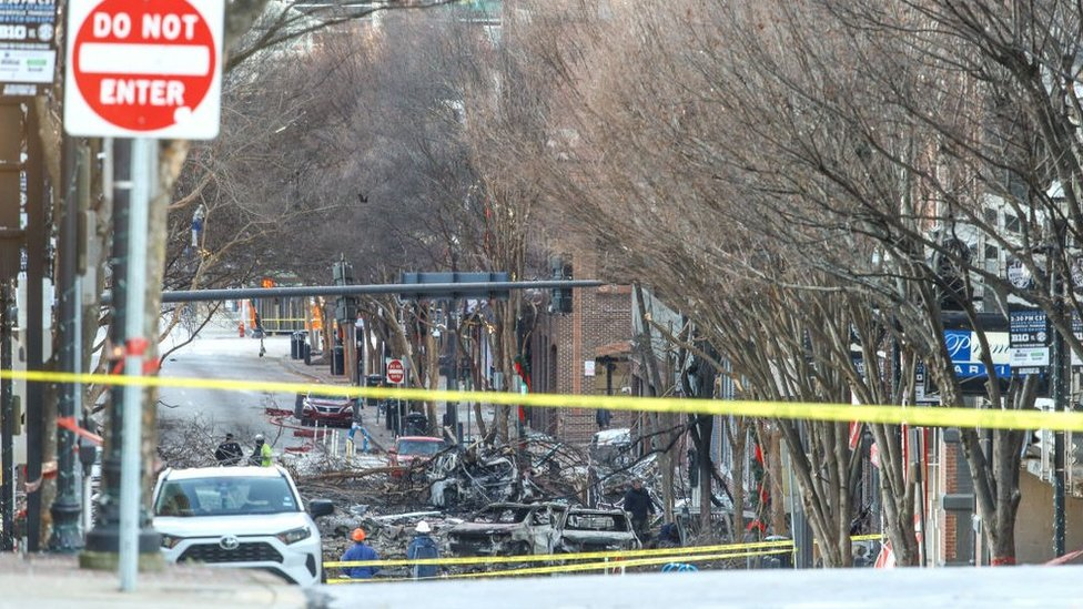 Nashville explosion: Businesses and celebrities pledge $315,000 reward thumbnail