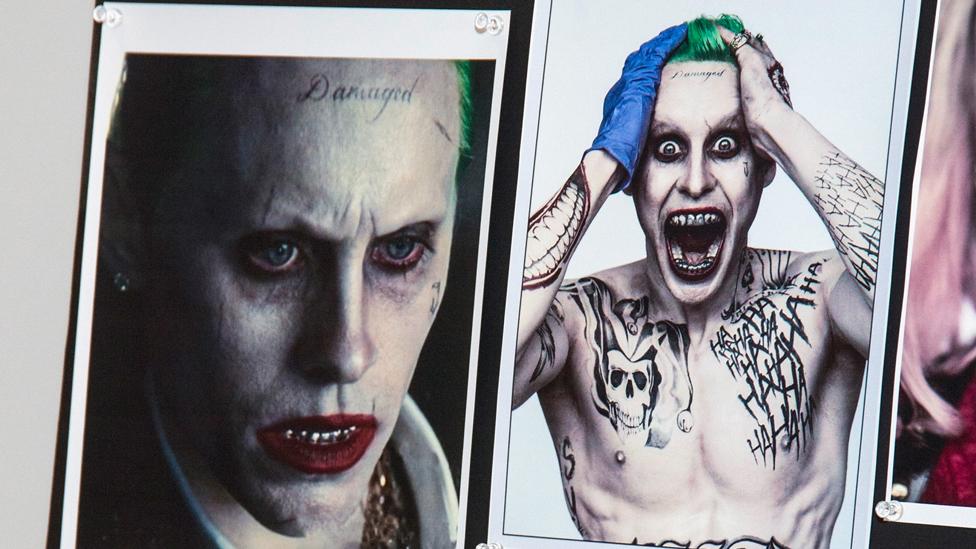 Foto y diseño para el personaje de Joker de Jared Leto