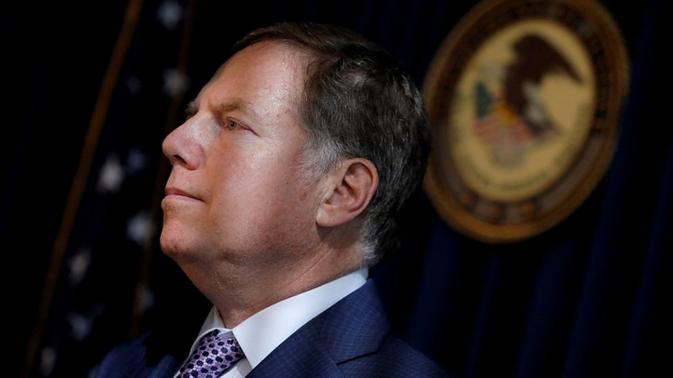 US Attorney for the Southern District Geoffrey Berman