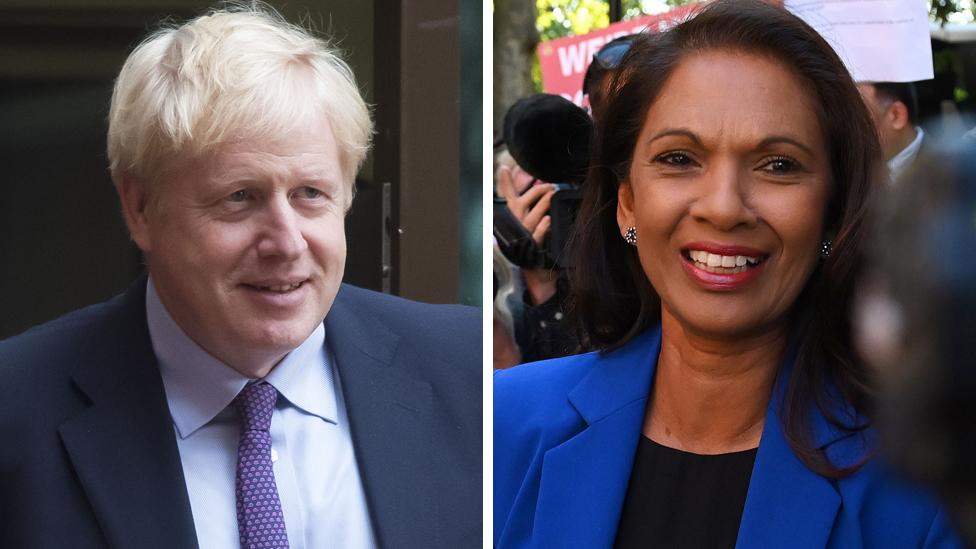 Boris Johnson, Gina Miller