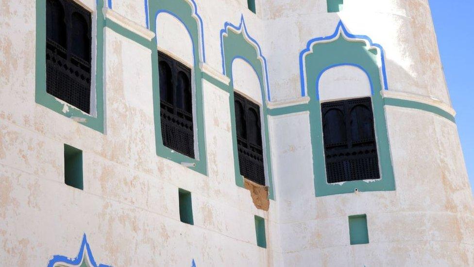 Istana Seiyun di Hadramaut, Yaman