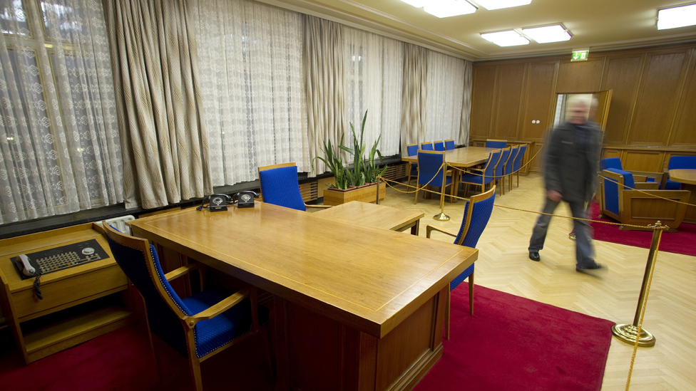 Mielke office in Stasi Museum, Jan 2012 pic