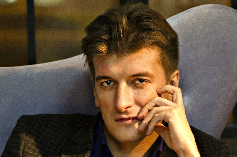 Facebook photo of Maxim Borodin