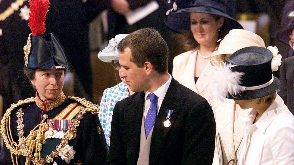 安妮公主和彼得·菲利普斯(2002年)