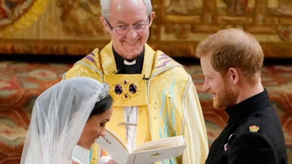 Archbishop Justin Welby officiated the royal wedding between Prince Harry and Meghan Markle in May 2018
