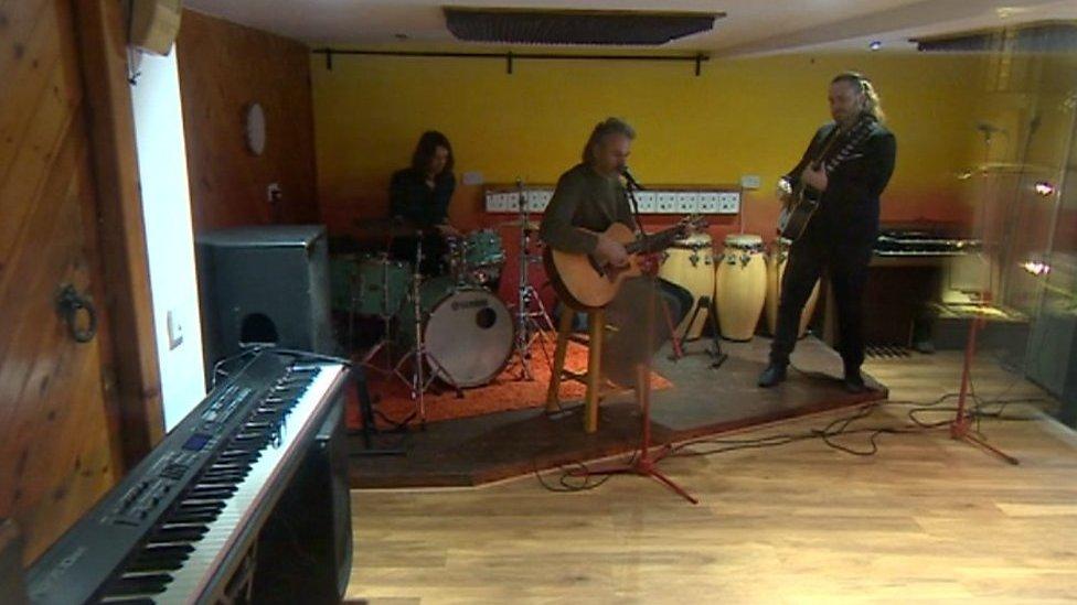 Birmingham recording studio under threat