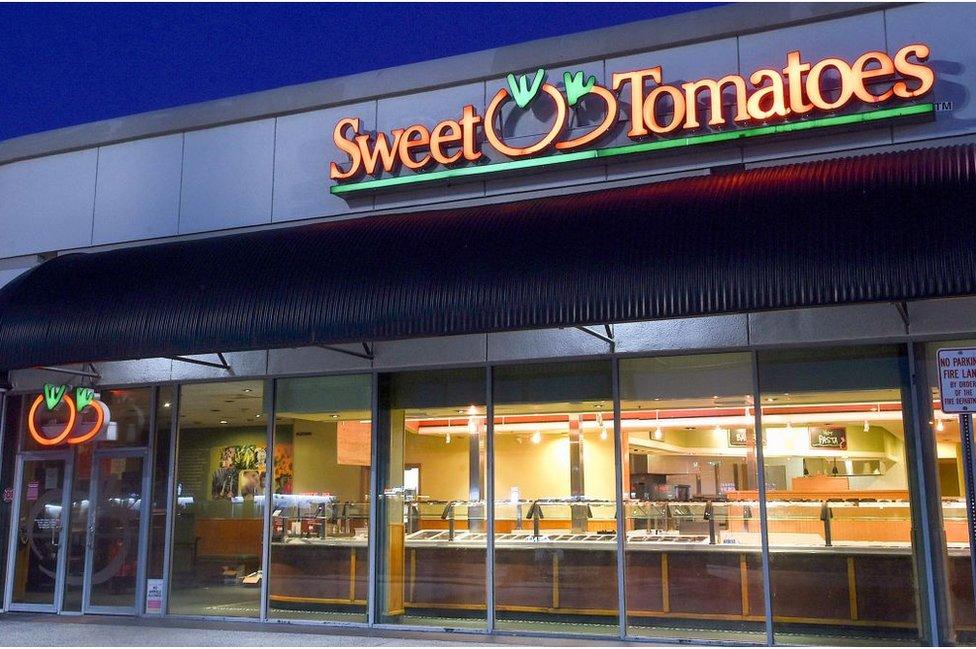 Un local de Sweet Tomato
