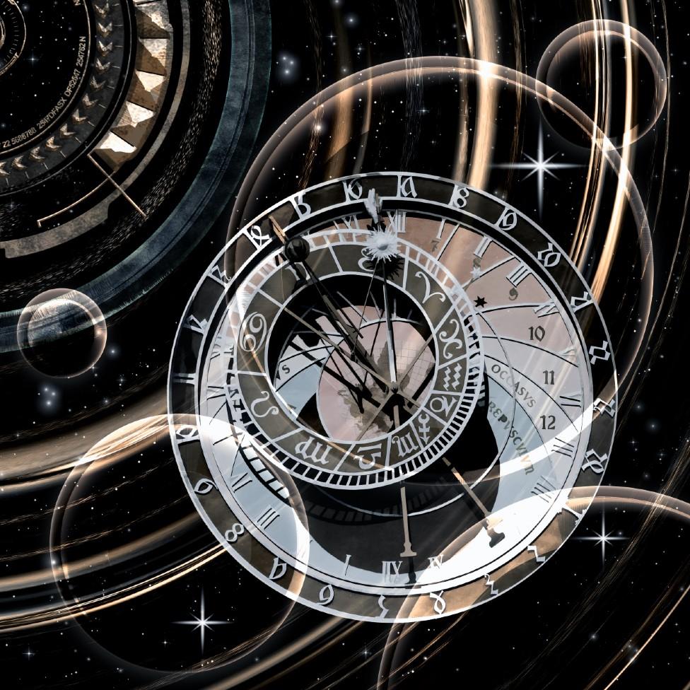 Relojes en el espacio