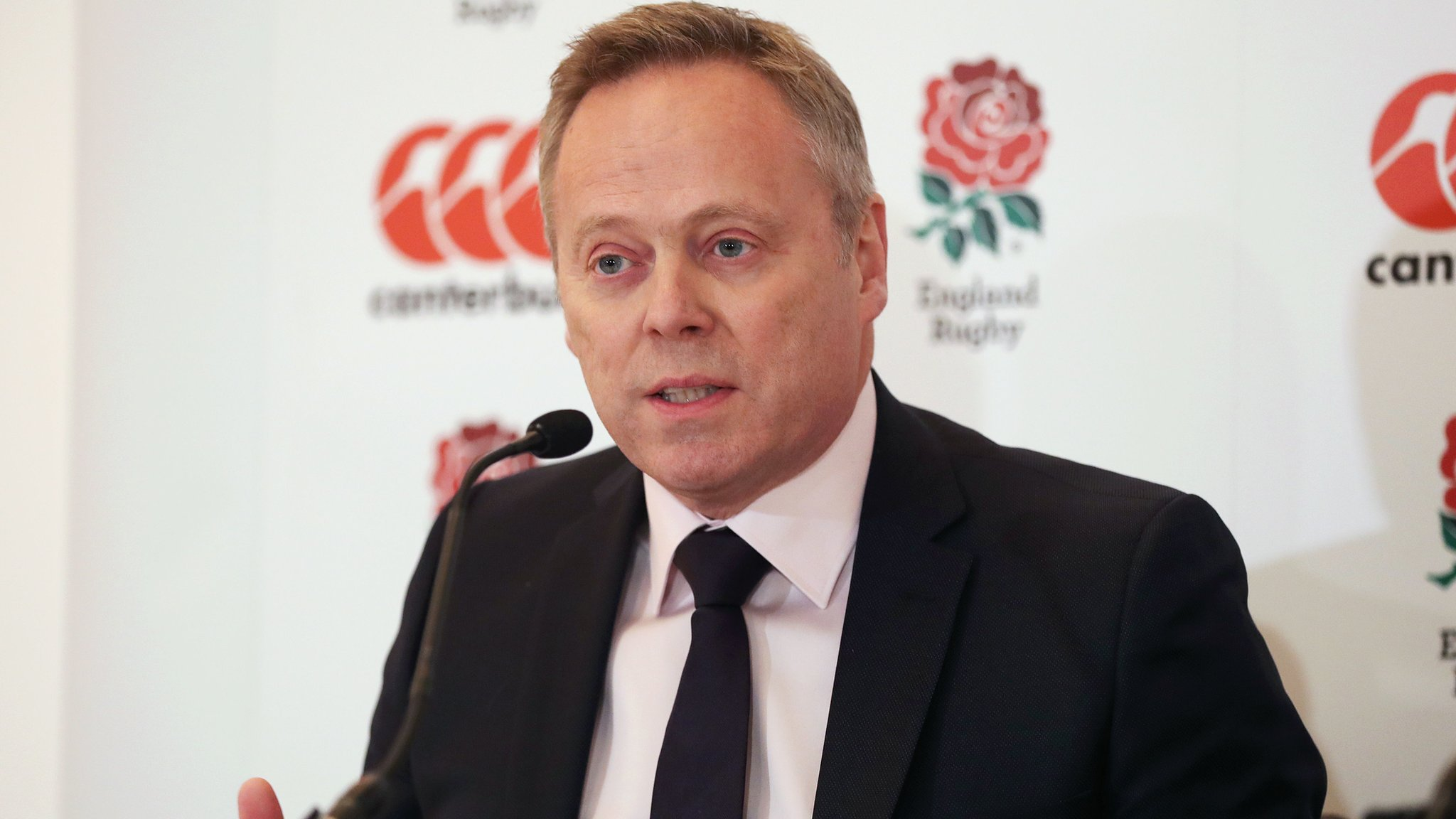 RFU: Steve Brown resigns as chief executive after 14 months in charge