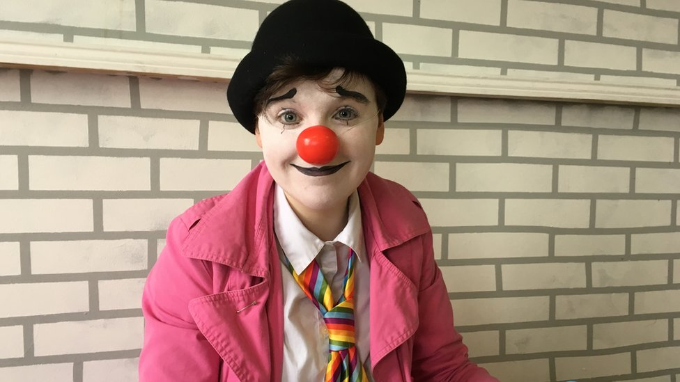 Making a career out of clowning around