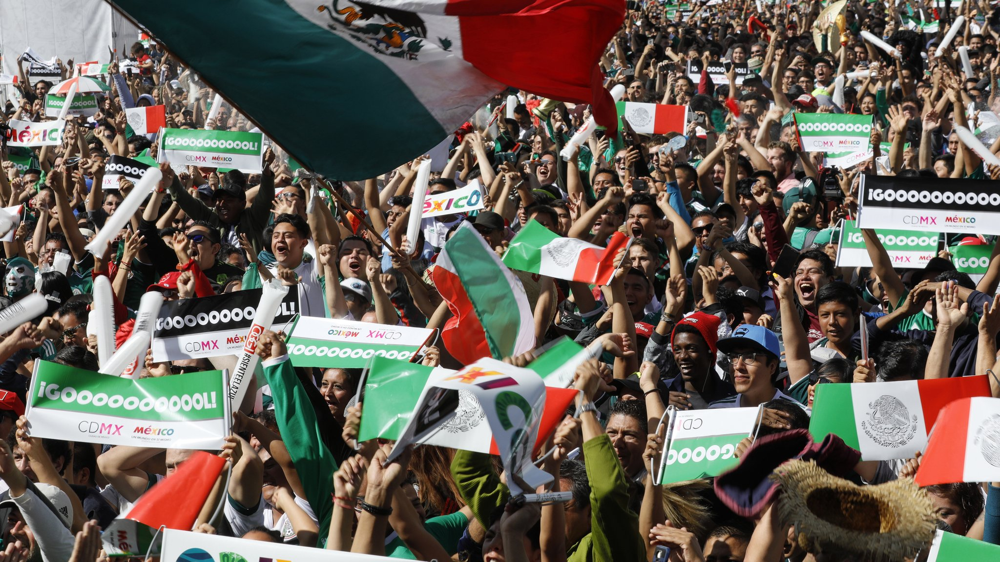 Mexico fined more than £7,000 for homophobic chants