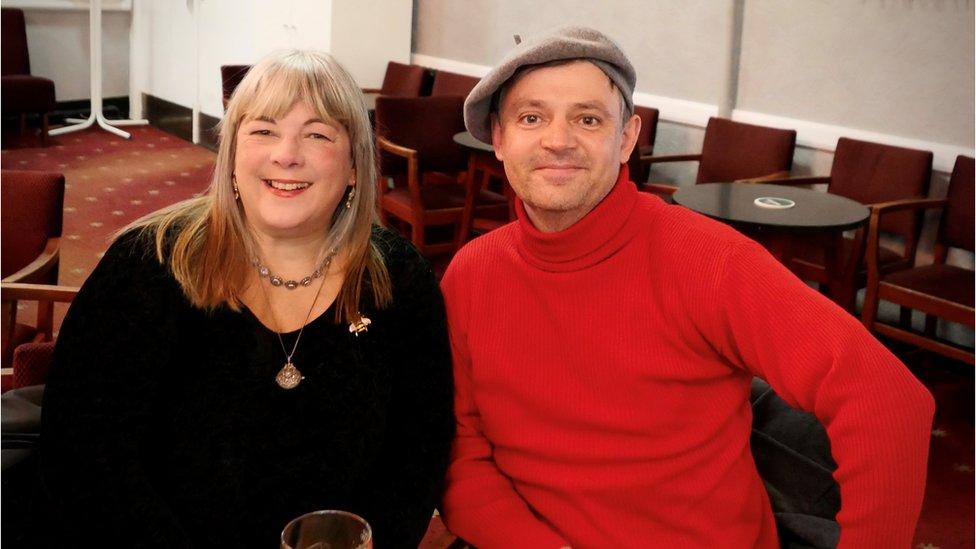 Annie McGann and Colin Moody