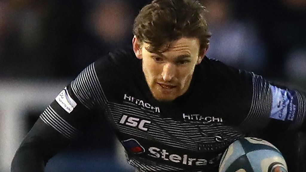Simon Hammersley: Newcastle Falcons full-back joins Sale Sharks to stay in Premiership
