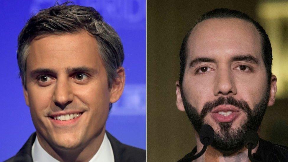 Carlos Calleja y Nayib Bukele NO USAR | BBC