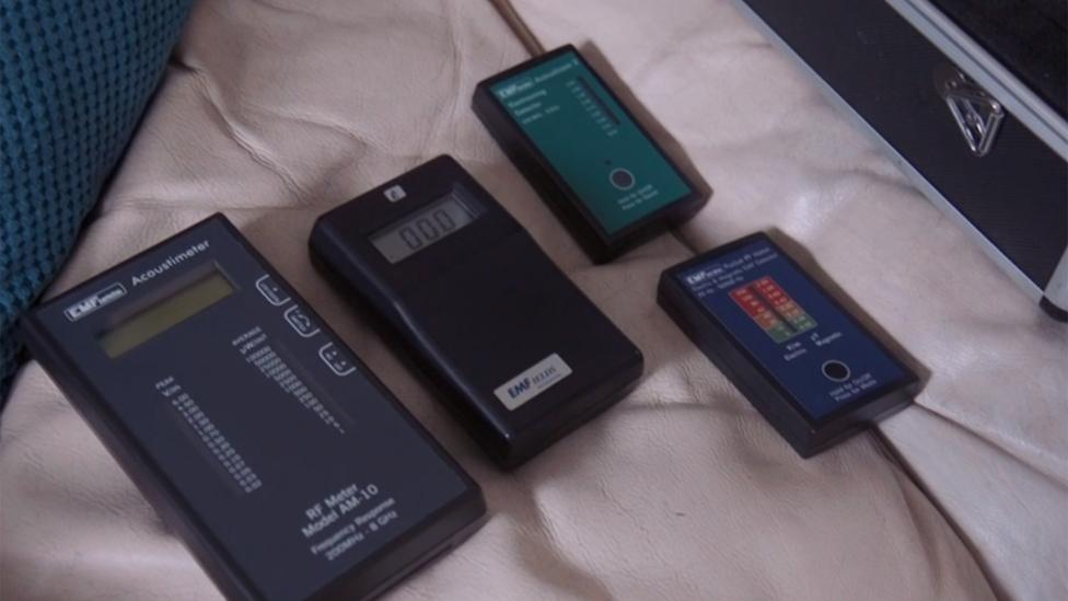 Medidores de electromagnetismo