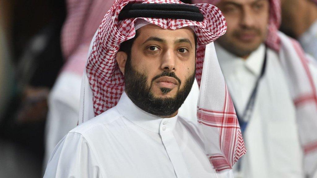 رئيس هيئة الترفيه بالمملكة العربية السعودية تركي آل الشيخ