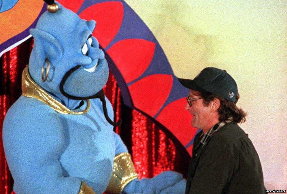 Robin Vilijams i Aladin