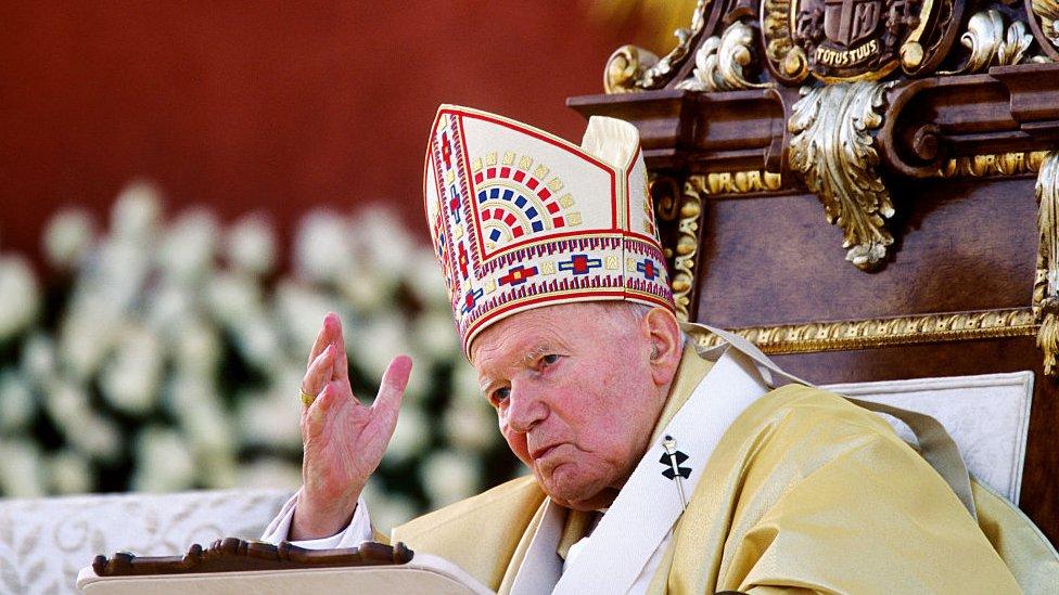 Papa Juan Pablo II.