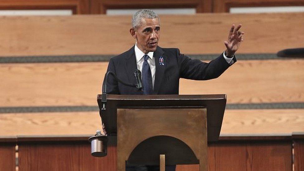 Obama da su discurso