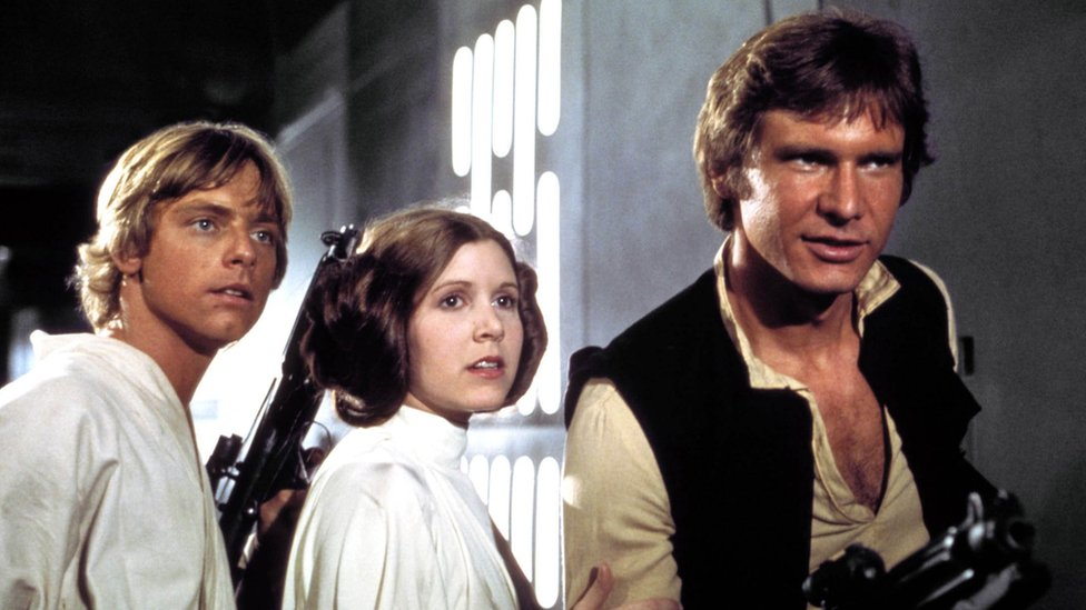 Publicity shot from Star Wars: A New Hope
