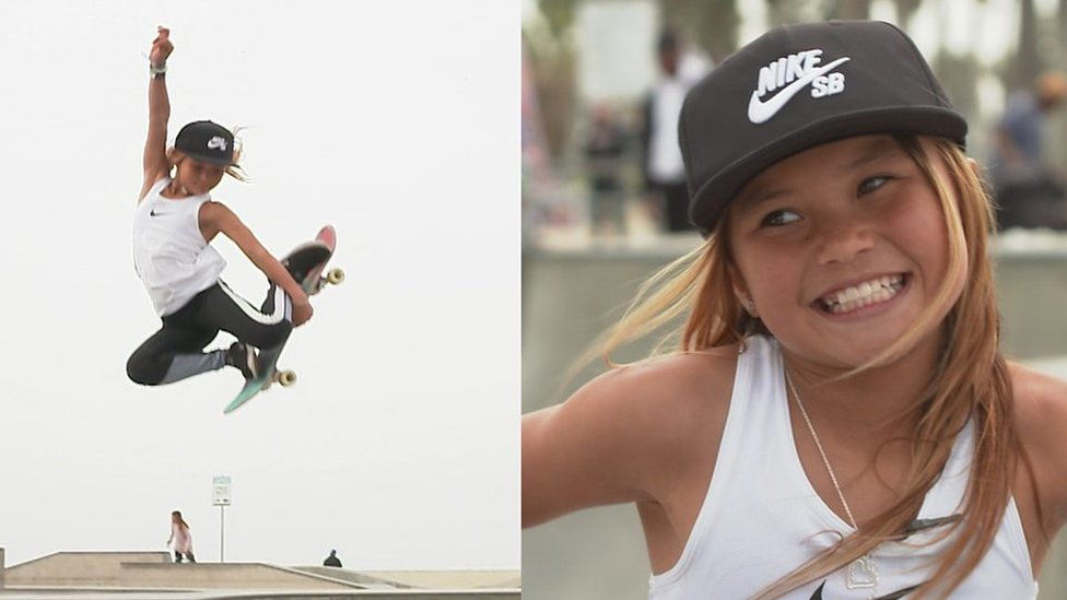 Sky Brown: Meet the 10-year-old GB skateboarding sensation