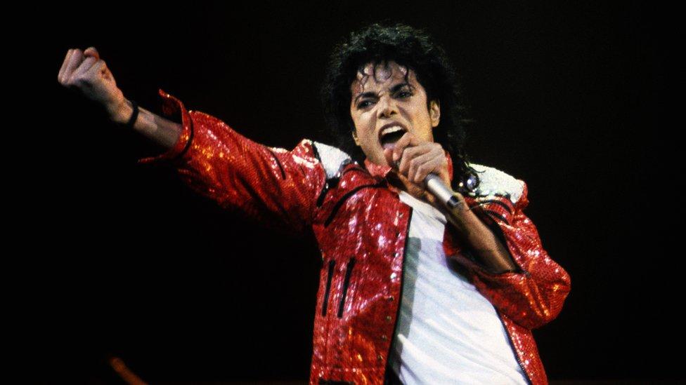 Majkl Džekson na koncertu