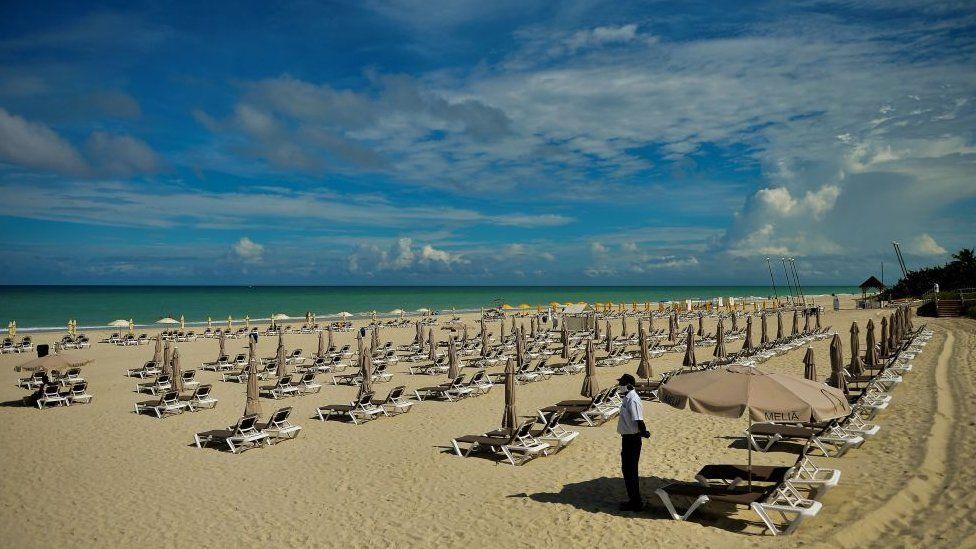 شاطئ في كوبا