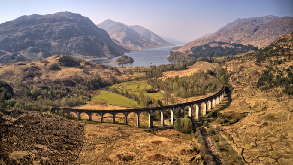 David Milne took this photo of the Glenfinnan Viaduct on the way home from a fantastic weeks holiday in Arisaig