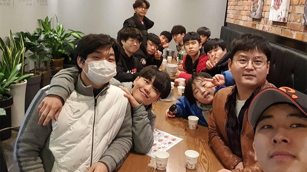 Kim's foster family