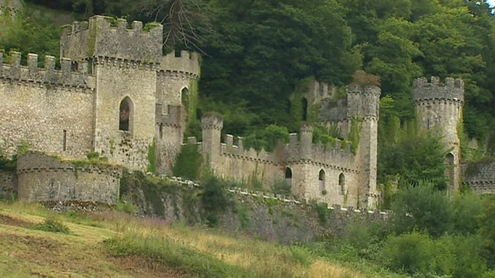 Theresa May honours Dr Mark Baker for saving Gwrych castle