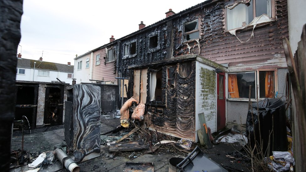 damage to dundrum house
