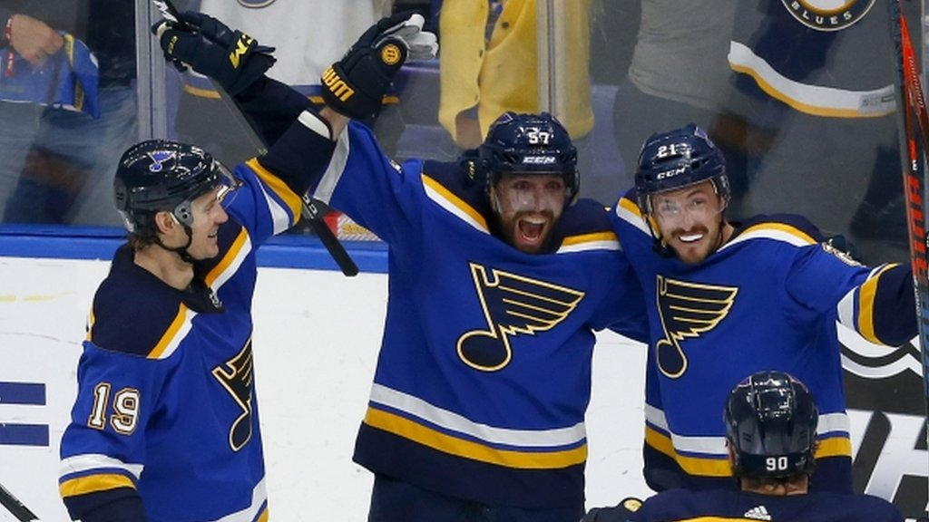 Stanley Cup: St Louis Blues reach first final since 1970 with remarkable run