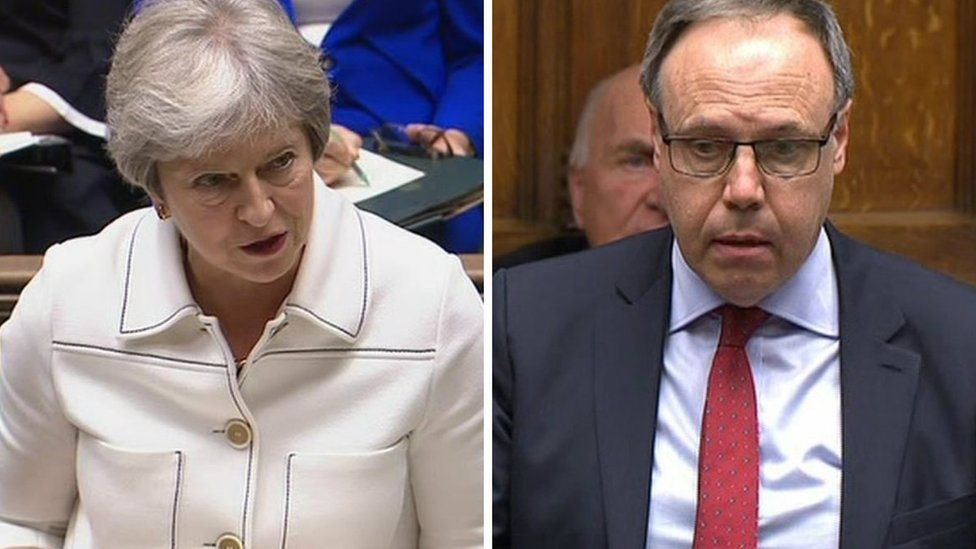 DUP threat over Brexit backstop deal