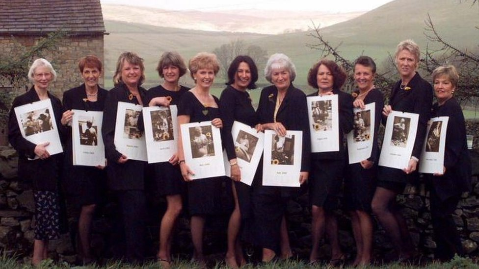 Calendar Girls story laid bare in Dales exhibition