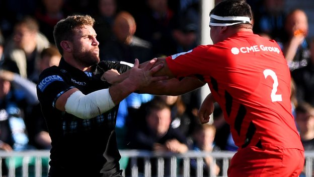 European Rugby Champions Cup: Glasgow Warriors 3-13 Saracens